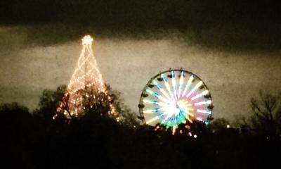 #iphoneography #danburkholder #zilker park #austin #ferriswheel #christmastree